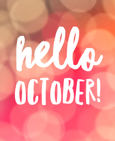 3 Things to Think About In October